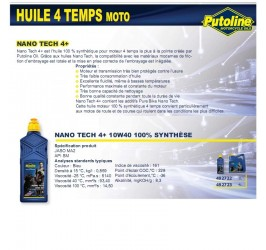 Huile 4 Temps Nano Tech 4+...